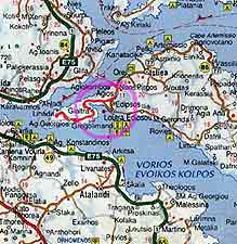 Greek islands villa to rent for holiday in Evia Greece Evvoia